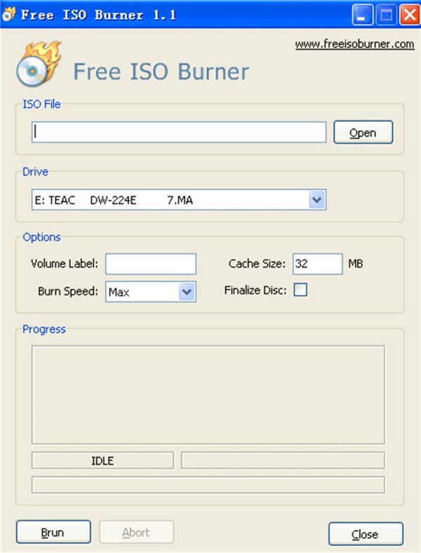 burn iso to disc