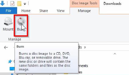 burn photos to cd on windows