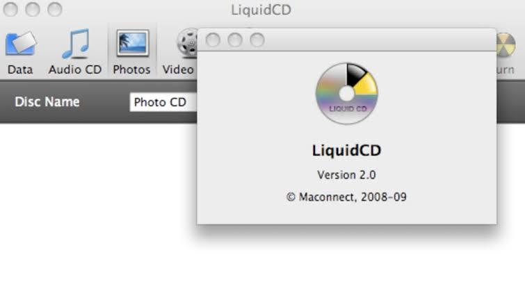 run cd burning software on mac