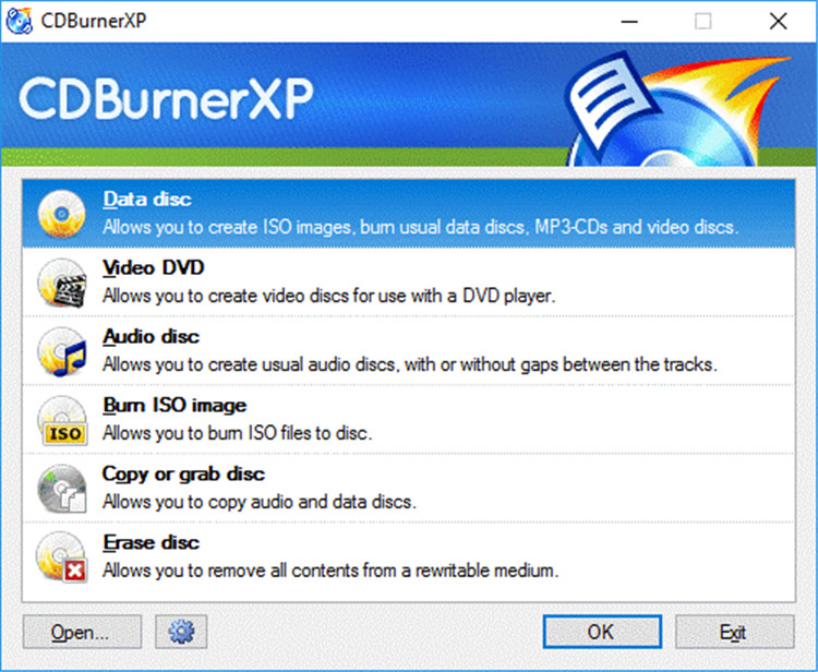 free cd dvd burning software