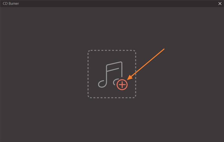 upload files to cd burner