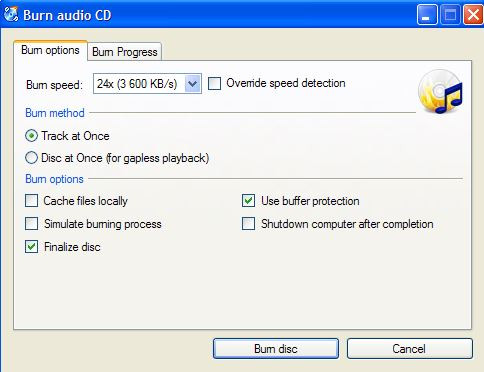 mp3 burning software windows 10