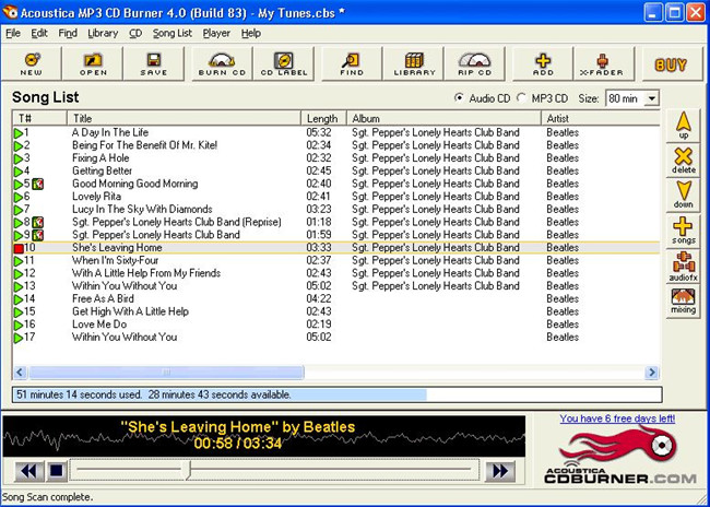 best mp3 burning software