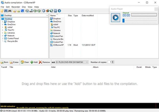 free Windows xp cd burner