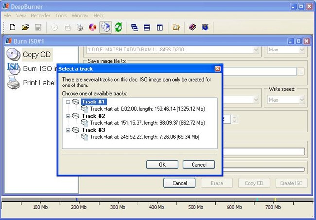windows xp cd burner with DeepBurner