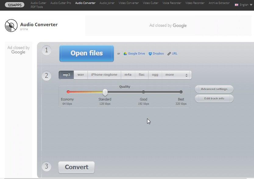 online audio compressor - Online Audio Converter