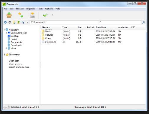 compresseurs de fichiers - PeaZip