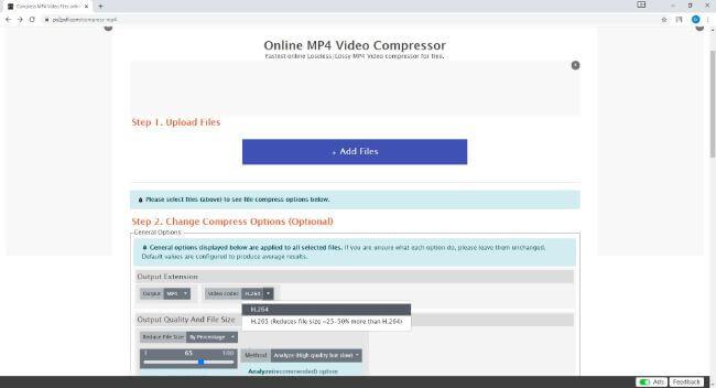 free mp4 video compressor