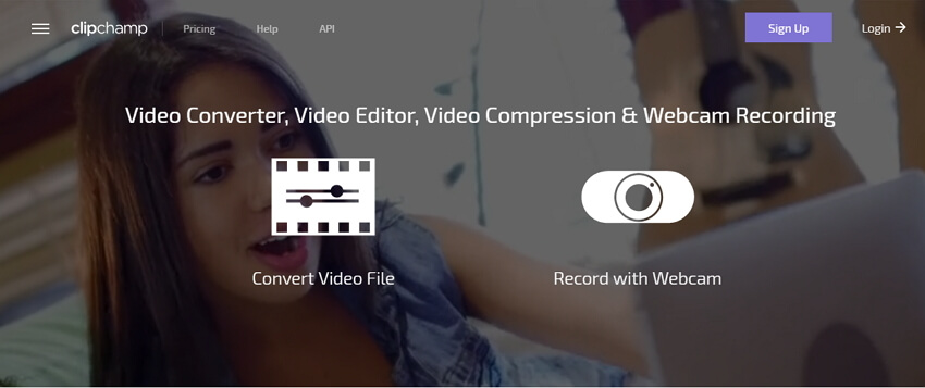 compress MP4 online with Clipchamp
