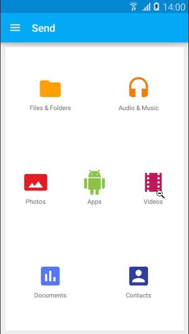 send large files Android - SuperBeam