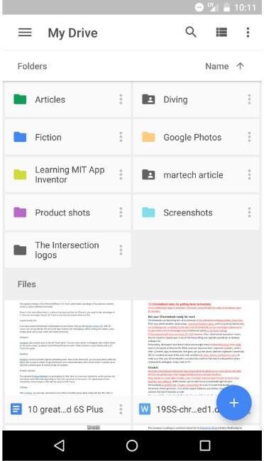 إرسال ملفات كبيرة باستخدام WhatsApp alternative - Google Drive
