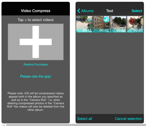 video compressor app for iPhone - 3