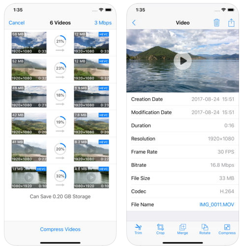 video compressor app for iPhone - 5