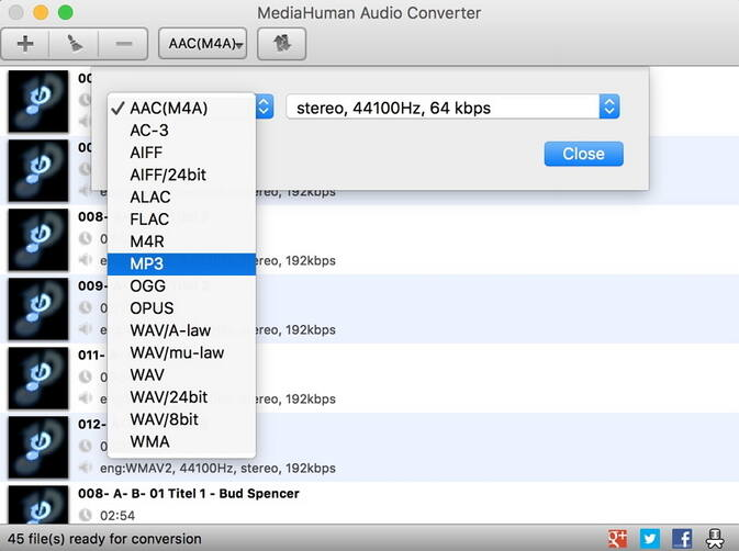 Convertitore Audio Online