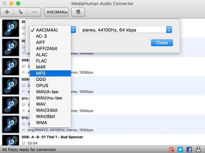 Convertidor de Audio Gratuito