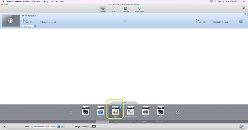 FLAC to WAV converter Mac