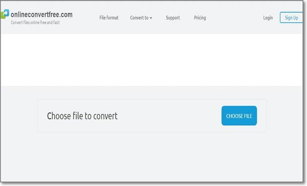 convertir Opus a MP3 por Fast Online Converter