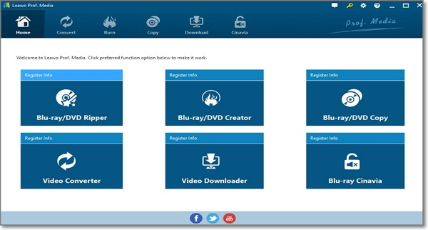 edit WMA by Leawo Video Converter