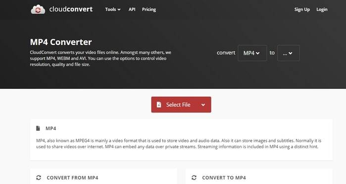 Anything to MP4 Converter Online Free -Online-CloudConvert