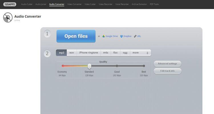 convert audio file online-Audio Converter