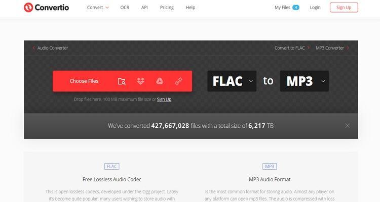 FLAC Online Video Converter - Conversor