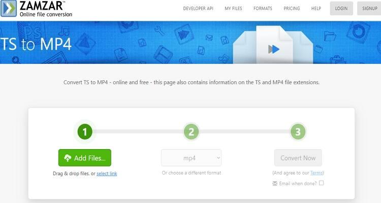 converter arquivo FLV online-Zamzar