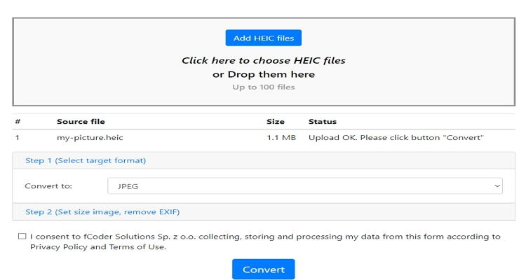 converter HEIC para JPEG online-Heic.Online