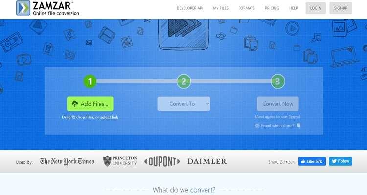how to Convert it on Windows Online -Zamzar