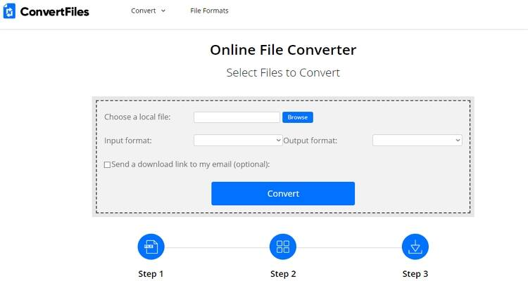 AVI and MP4 Free Converter - ConvertFiles