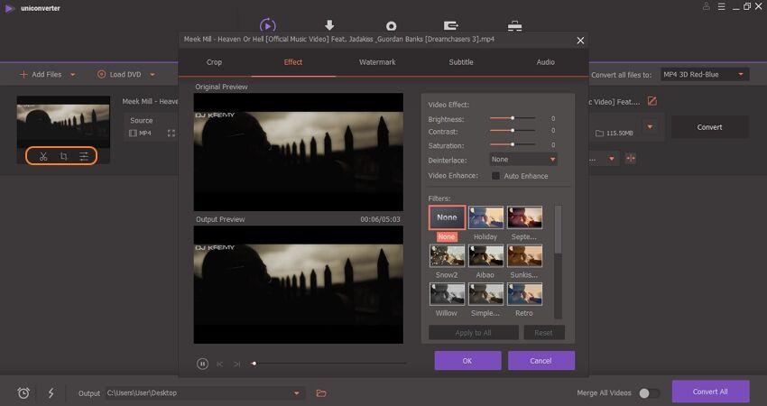 editar arquivo MP4 e MOV