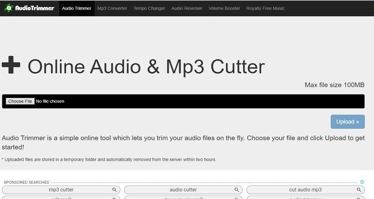 converter música para toque online-AudioTrimmer