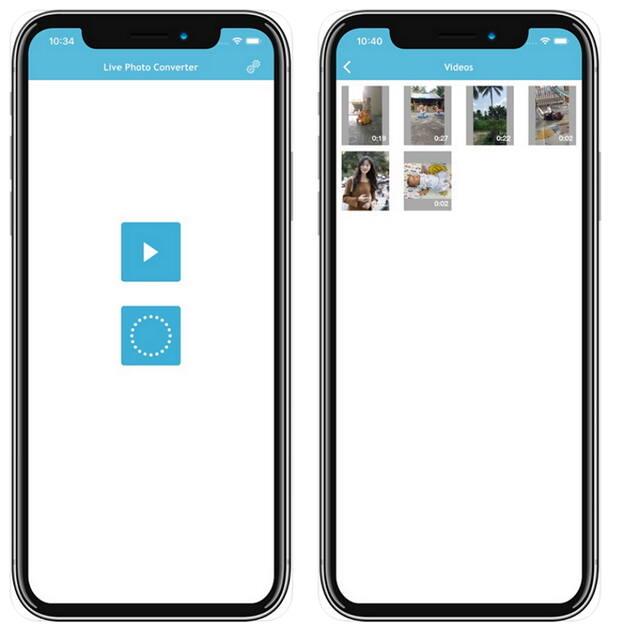 Converta vídeo para Live Photo Online Free-Lively converter