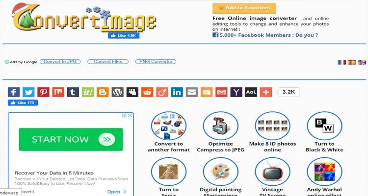 online free picture converter-ConvertImage