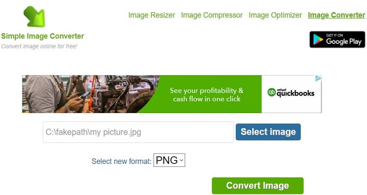 online free picture converter-Simple Image Converter