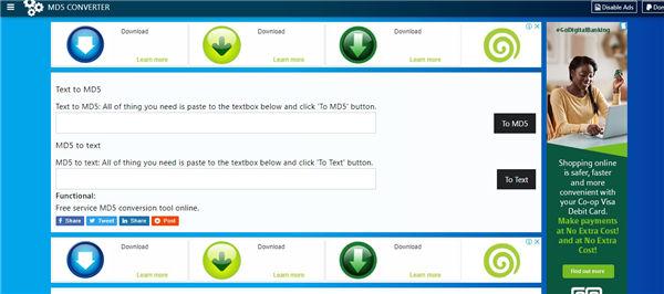 converter md5 online
