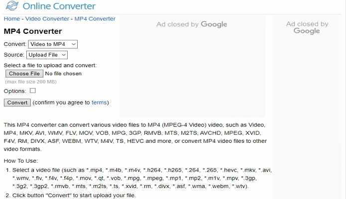 convert mp4 online free -Online Converter