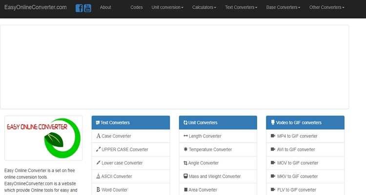 Popular Easy Converter - Easy Online Converter