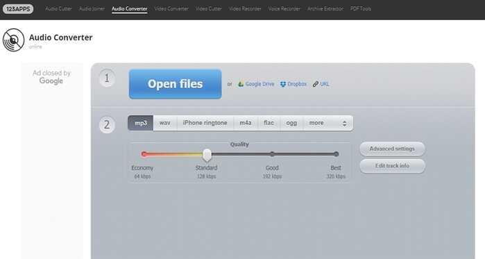 Free File Type Converter - Online Audio Converter