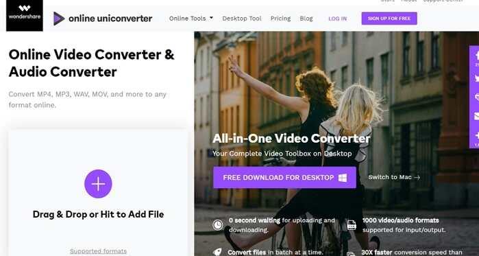 Free File Type Converter -Online UniConverter