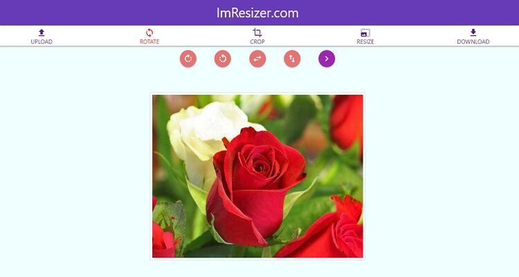 melhor conversor de tamanho de imagem-ImResizer.com