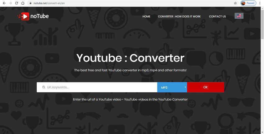 Online Video Clip Converter - noTube