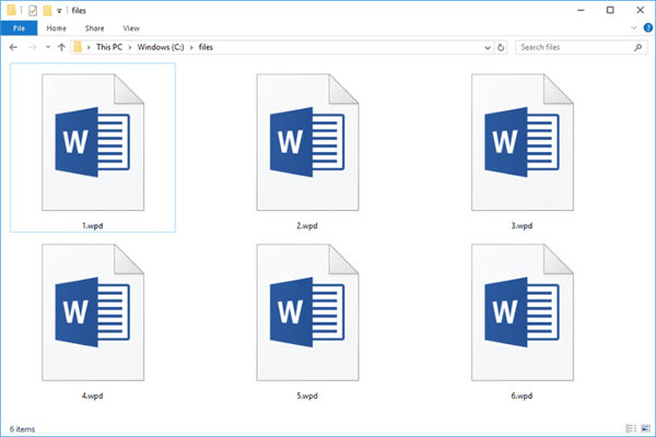 how to open wpd file