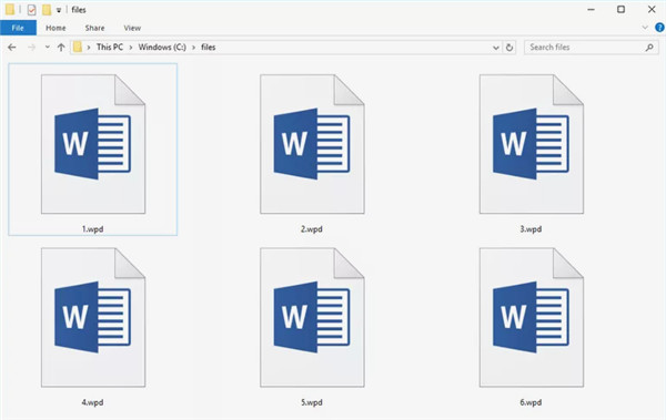 wpd file