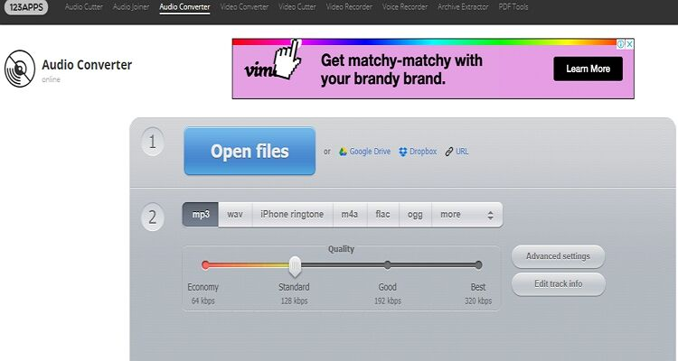 Alternativas on-line do Zamzar -Video Converter