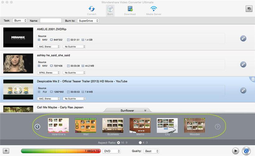 Add Videos into Program