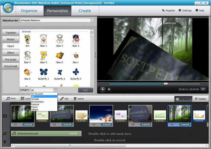 Burn Photos to DVD - Using Wondershare Slideshow Builder Deluxe