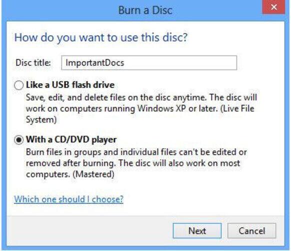 How to Burn Photos to DVD on Windows 8 - Start Windows DVD Maker