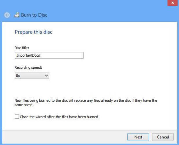 How to Burn Photos to DVD on Windows 8 - Burning Photos to DVD