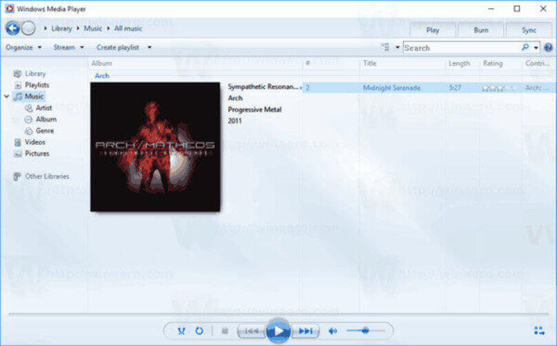 How to Burn Music to CD on Windows 10 - Using Windows Media Player