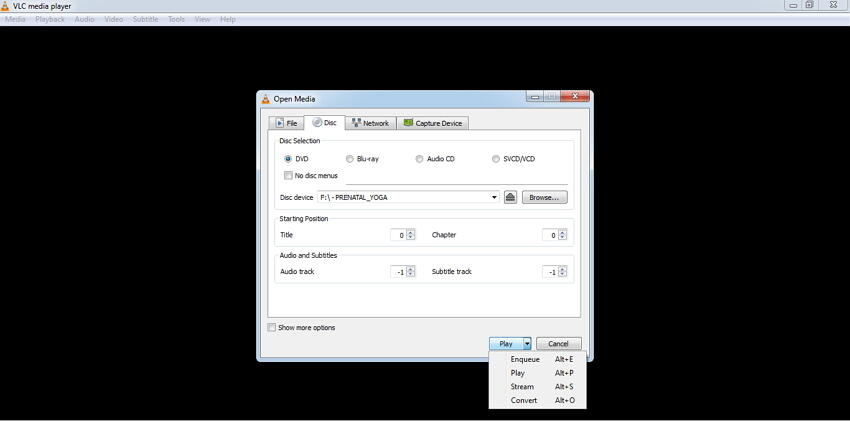 converti DVD in MP4 con VLC